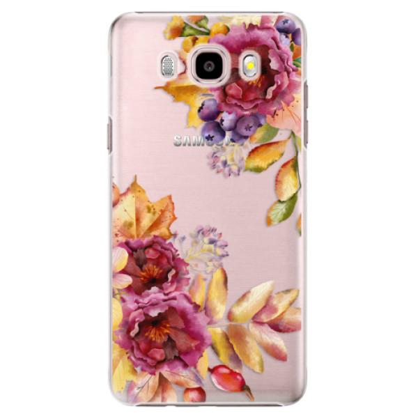 Plastové puzdro iSaprio - Fall Flowers - Samsung Galaxy J5 2016
