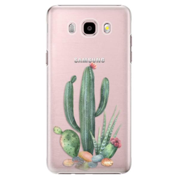 Plastové puzdro iSaprio - Cacti 02 - Samsung Galaxy J5 2016