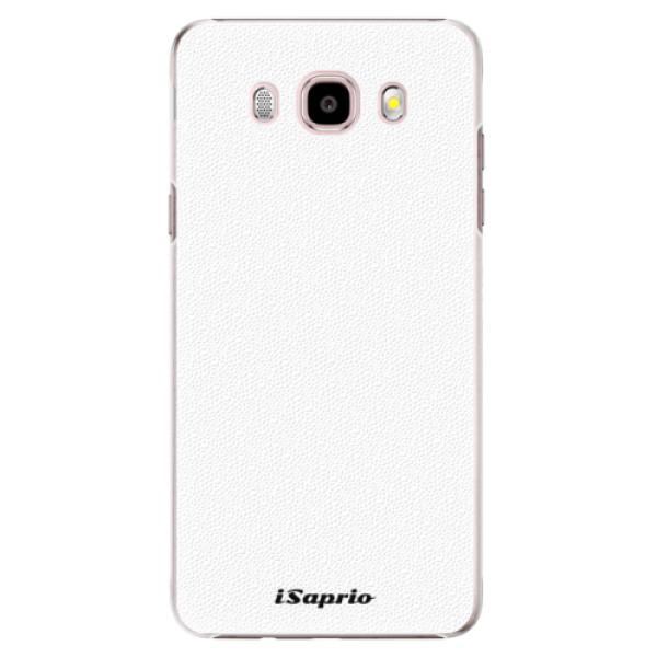 Plastové puzdro iSaprio - 4Pure - bílý - Samsung Galaxy J5 2016