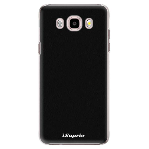 Plastové puzdro iSaprio - 4Pure - černý - Samsung Galaxy J5 2016