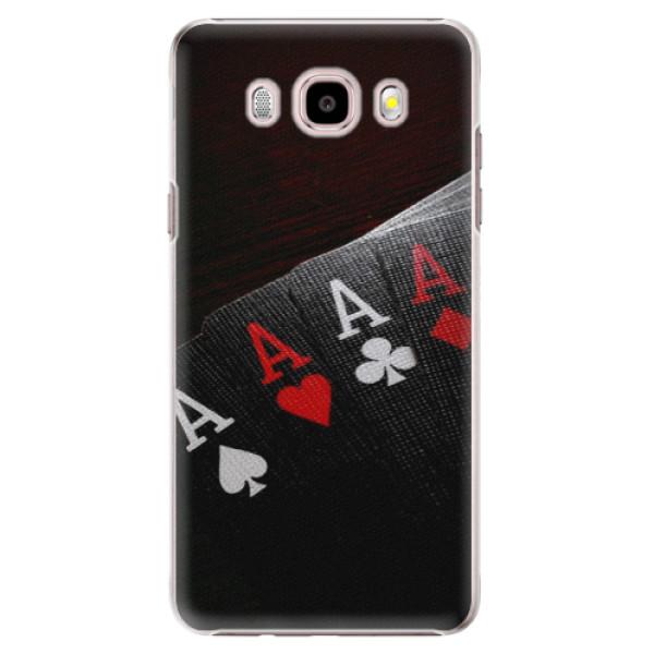 Plastové puzdro iSaprio - Poker - Samsung Galaxy J5 2016