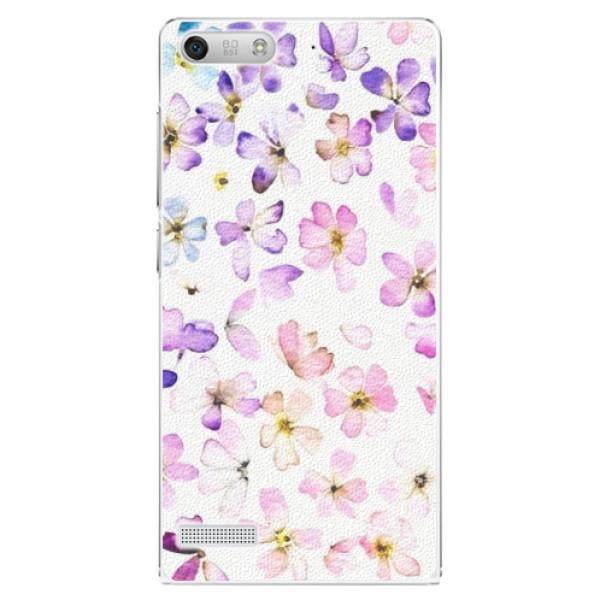 Plastové puzdro iSaprio - Wildflowers - Huawei Ascend G6