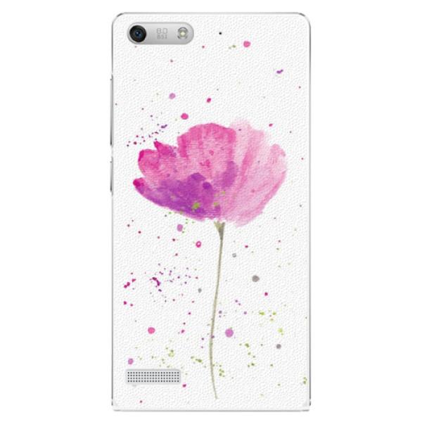 Plastové puzdro iSaprio - Poppies - Huawei Ascend G6
