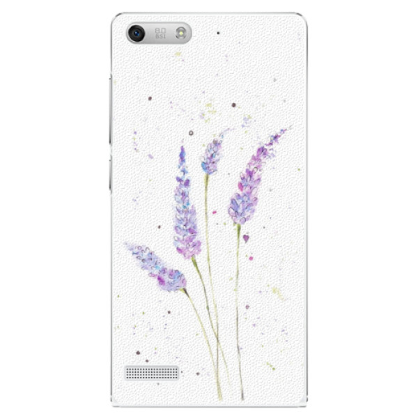 Plastové puzdro iSaprio - Lavender - Huawei Ascend G6