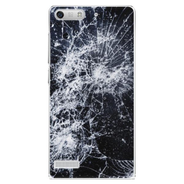 Plastové puzdro iSaprio - Cracked - Huawei Ascend G6