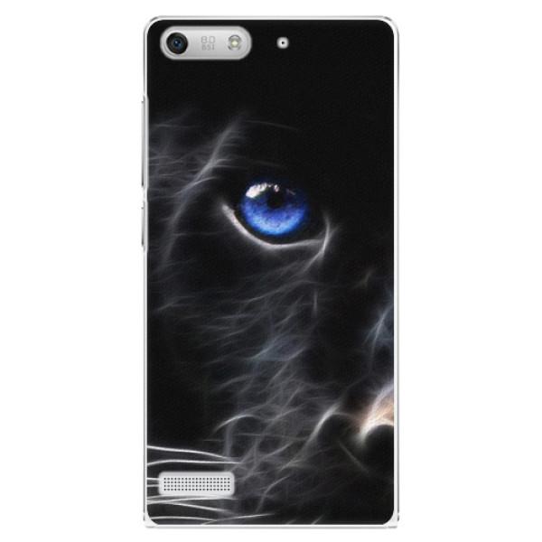 Plastové puzdro iSaprio - Black Puma - Huawei Ascend G6
