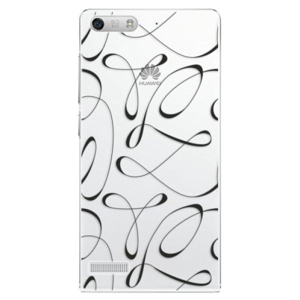 Plastové puzdro iSaprio - Fancy - black - Huawei Ascend G6