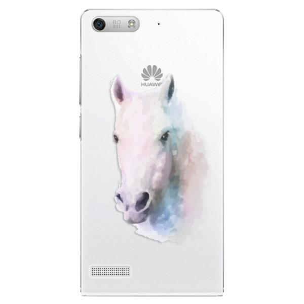 Plastové puzdro iSaprio - Horse 01 - Huawei Ascend G6