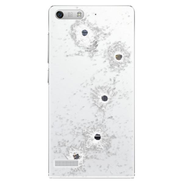 Plastové puzdro iSaprio - Gunshots - Huawei Ascend G6