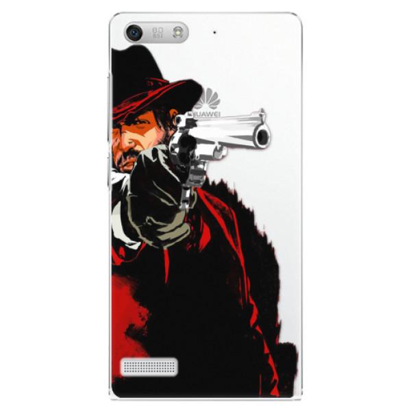 Plastové puzdro iSaprio - Red Sheriff - Huawei Ascend G6
