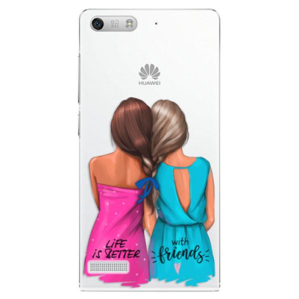 Plastové puzdro iSaprio - Best Friends - Huawei Ascend G6