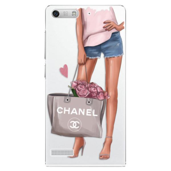 Plastové puzdro iSaprio - Fashion Bag - Huawei Ascend G6