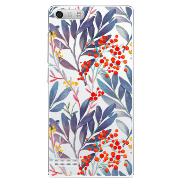 Plastové puzdro iSaprio - Rowanberry - Huawei Ascend G6