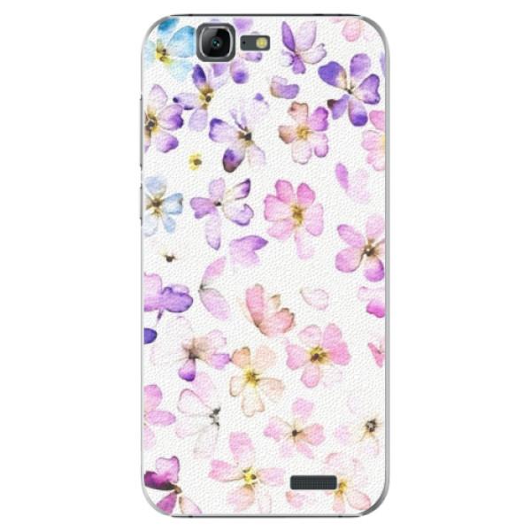 Plastové puzdro iSaprio - Wildflowers - Huawei Ascend G7