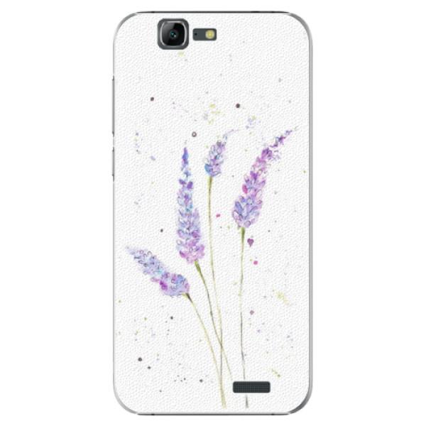 Plastové puzdro iSaprio - Lavender - Huawei Ascend G7