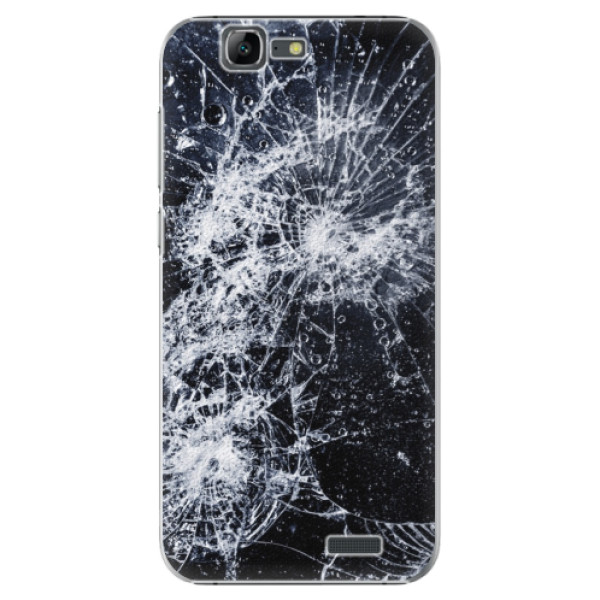 Plastové puzdro iSaprio - Cracked - Huawei Ascend G7