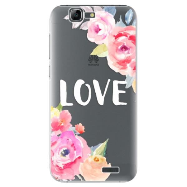 Plastové puzdro iSaprio - Love - Huawei Ascend G7