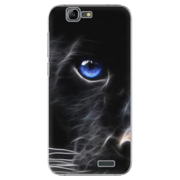 Plastové puzdro iSaprio - Black Puma - Huawei Ascend G7