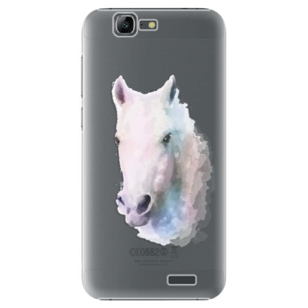 Plastové puzdro iSaprio - Horse 01 - Huawei Ascend G7