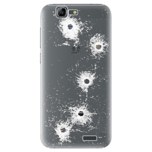 Plastové puzdro iSaprio - Gunshots - Huawei Ascend G7