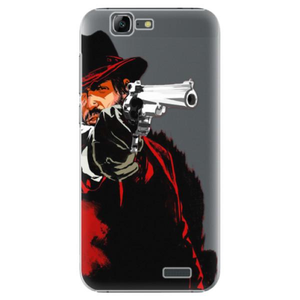 Plastové puzdro iSaprio - Red Sheriff - Huawei Ascend G7
