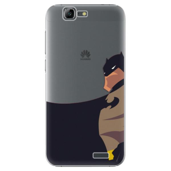 Plastové puzdro iSaprio - BaT Comics - Huawei Ascend G7