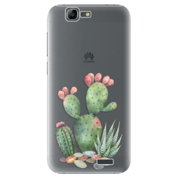 Plastové puzdro iSaprio - Cacti 01 - Huawei Ascend G7