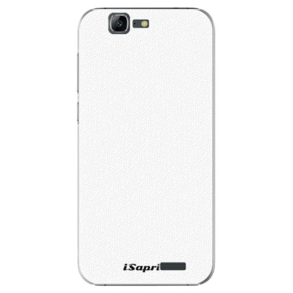 Plastové puzdro iSaprio - 4Pure - bílý - Huawei Ascend G7