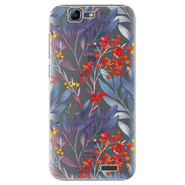 Plastové puzdro iSaprio - Rowanberry - Huawei Ascend G7