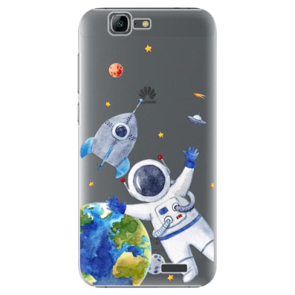 Plastové puzdro iSaprio - Space 05 - Huawei Ascend G7