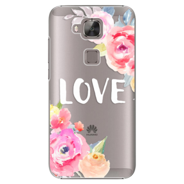 Plastové puzdro iSaprio - Love - Huawei Ascend G8