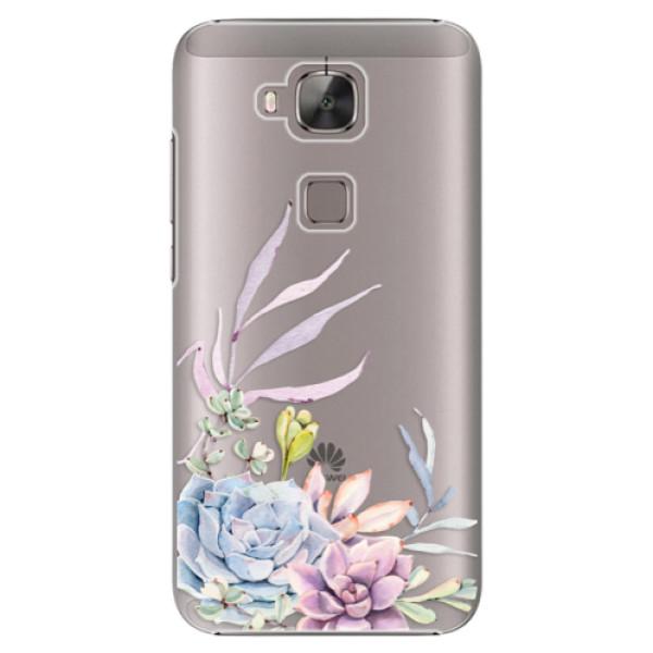 Plastové puzdro iSaprio - Succulent 01 - Huawei Ascend G8