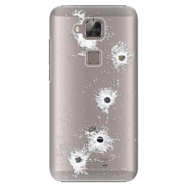 Plastové puzdro iSaprio - Gunshots - Huawei Ascend G8