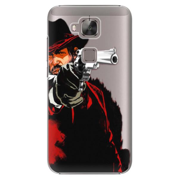 Plastové puzdro iSaprio - Red Sheriff - Huawei Ascend G8