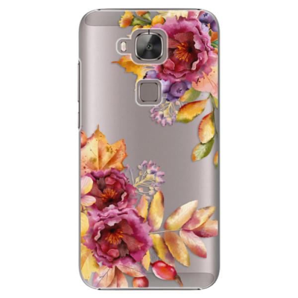 Plastové puzdro iSaprio - Fall Flowers - Huawei Ascend G8