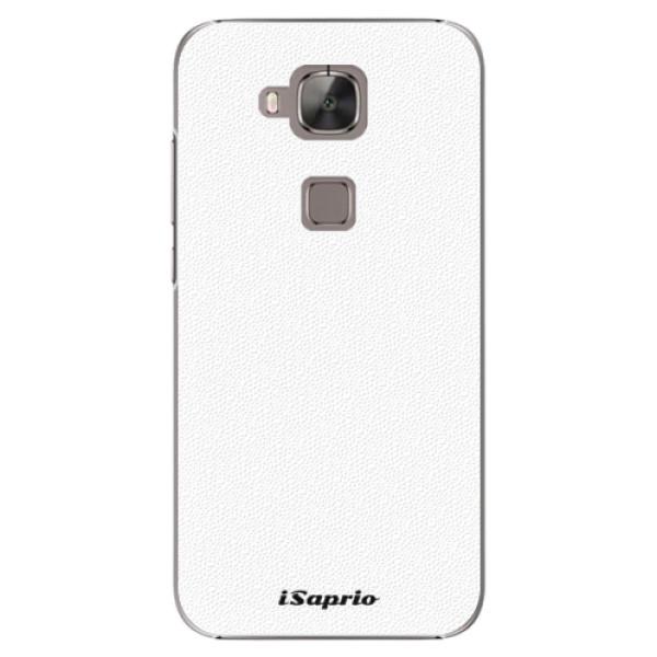 Plastové puzdro iSaprio - 4Pure - bílý - Huawei Ascend G8