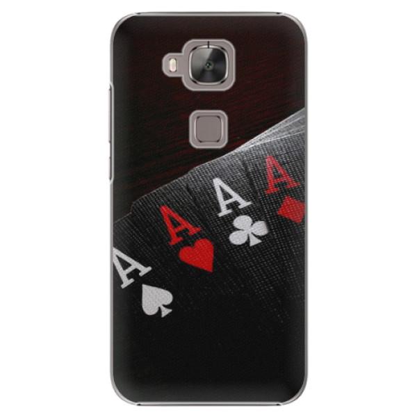 Plastové puzdro iSaprio - Poker - Huawei Ascend G8