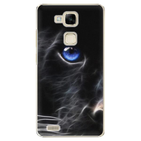 Plastové puzdro iSaprio - Black Puma - Huawei Ascend Mate7