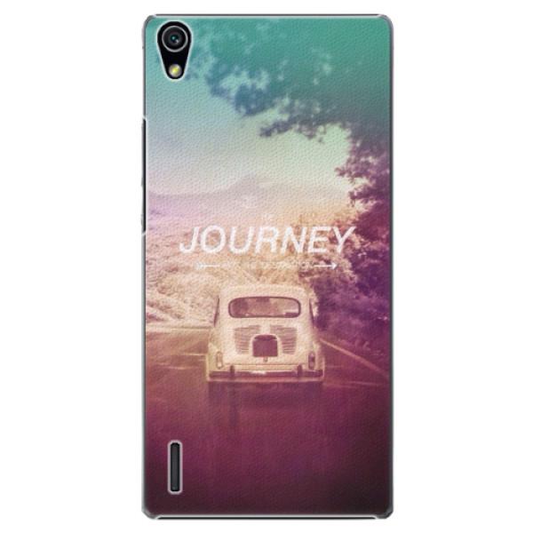 Plastové puzdro iSaprio - Journey - Huawei Ascend P7