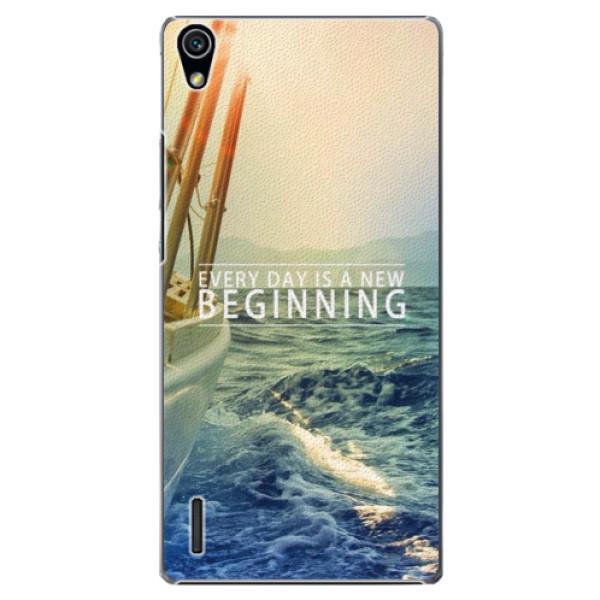 Plastové puzdro iSaprio - Beginning - Huawei Ascend P7