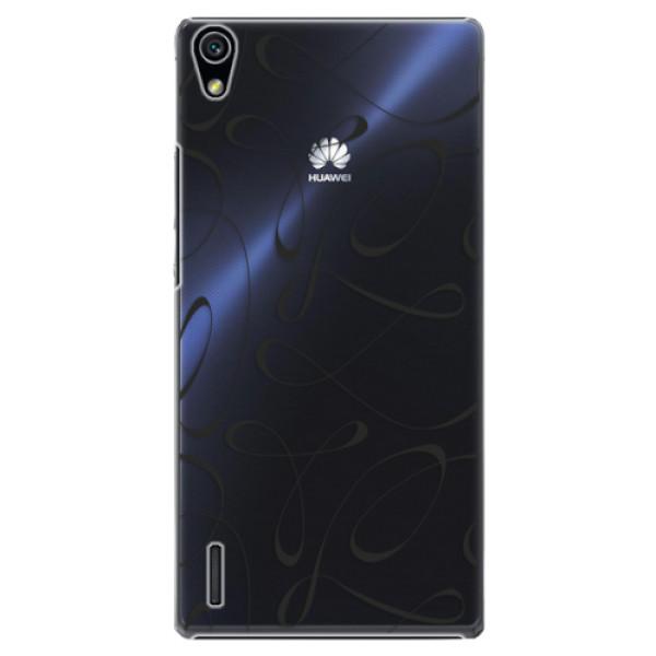 Plastové puzdro iSaprio - Fancy - black - Huawei Ascend P7
