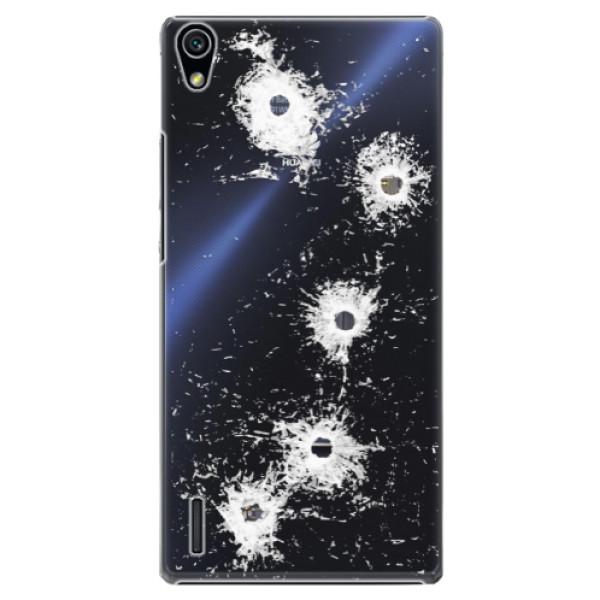 Plastové puzdro iSaprio - Gunshots - Huawei Ascend P7