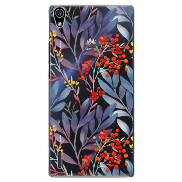 Plastové puzdro iSaprio - Rowanberry - Huawei Ascend P7