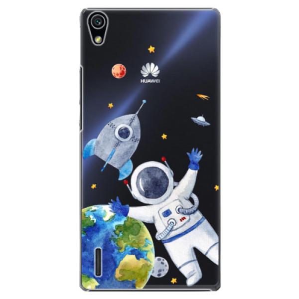 Plastové puzdro iSaprio - Space 05 - Huawei Ascend P7