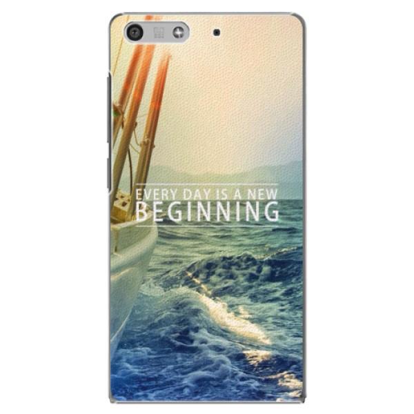 Plastové puzdro iSaprio - Beginning - Huawei Ascend P7 Mini