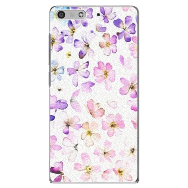 Plastové puzdro iSaprio - Wildflowers - Huawei Ascend P7 Mini