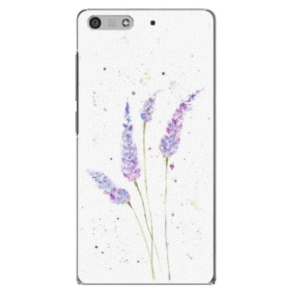 Plastové puzdro iSaprio - Lavender - Huawei Ascend P7 Mini