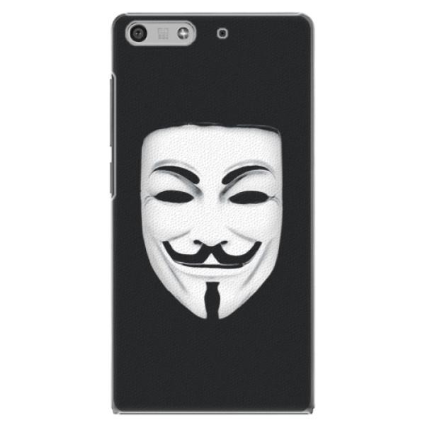 Plastové puzdro iSaprio - Vendeta - Huawei Ascend P7 Mini