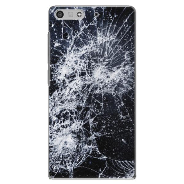 Plastové puzdro iSaprio - Cracked - Huawei Ascend P7 Mini
