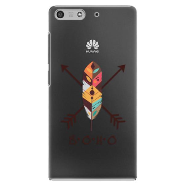 Plastové puzdro iSaprio - BOHO - Huawei Ascend P7 Mini